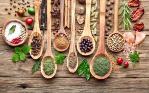 еда, крупы,  зерно,  специи,  семечки, розмарин, гвоздика, перец, мята