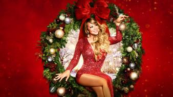 mariah carey`s magical christmas special, музыка, mariah carey, волшебный, рождественский, выпуск, марайя, кэри, 4, декабря, 2020, года, новый, год, певица, постер