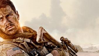 стена, боевик, триллер, драма, военный, аарон тейлор джонсон, постер
