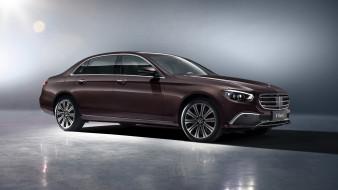 2020 mercedes-benz e 350 l exclusive line, автомобили, mercedes-benz, brown, e, 350l, exclusive, line, 2020, мерседес, седан, премиум, класс