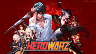 аниме, hero warz, herowarz