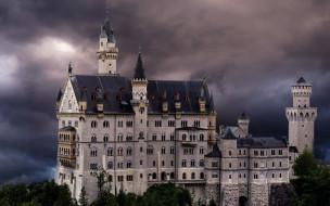 neuschwanstein casle, города, замок нойшванштайн , германия, neuschwanstein, casle