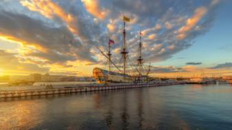 корабли, фрегаты,  корветы, санкт-петербург