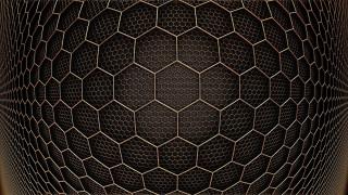 3д графика, абстракция , abstract, фон, заставка, иллюзия, абстракция, соты, сетка, геометрия, шестиугольник
