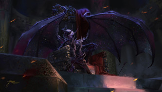 видео игры, dungeons & dragons online, крылья