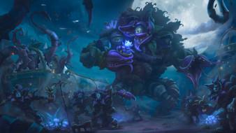 видео игры, heroes of the storm, монстры, мутанты, растения