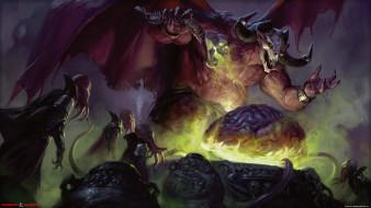 видео игры, dungeons & dragons online, существа, демон, ритуал