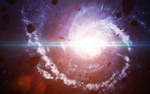 космос, квазары, метеориты, астероиды, небо, звёзды, туманность, свечение, галактика, вселенная, пространство, бесконечность