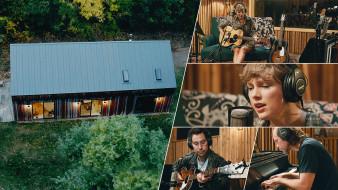 folklore - the long pond studio sessions , 2020, музыка, -другое, folklore, the, long, pond, studio, sessions, тейлор, свифт, постер
