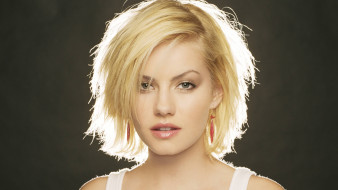 девушки, elisha cuthbert, блондинка, лицо