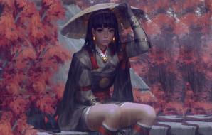 guweiz, рисованное, девушка