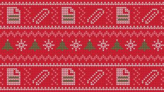 разное, ретро,  винтаж, microsoft, свитер, фестивали, пиксельная, графика, рождественская, елка, красный, голубой