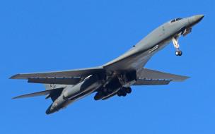 сверхзвуковой, стратегический бомбардировщик, rockwell international, b1, lancer