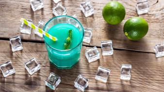 еда, напитки,  коктейль, лед, коктейль, мята, лайм