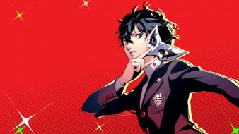 аниме, persona, 5, royal