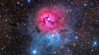 космос, галактики, туманности, конская, голова, и, пламя