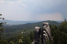 заповедник чешский рай, природа, горы, заповедник, чешский, рай