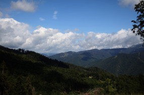 чехия, природа, горы