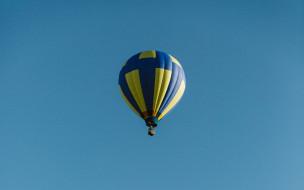 полет, шар, воздушный
