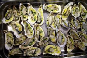 обои для рабочего стола 2560x1706 еда, рыба,  морепродукты,  суши,  роллы, устрицы