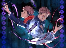 обои для рабочего стола 2048x1506 аниме, jujutsu kaisen, магическая, битва