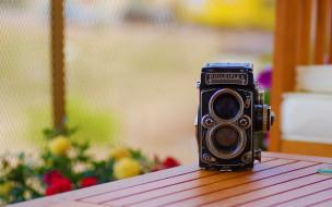 бренды, бренды фотоаппаратов , разное, фотоаппарат, камера, ретро, стол