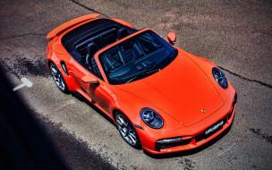 2021 porsche 911 turbo s cabriolet, автомобили, porsche, 911, turbo, s, cabriolet, порше, au, spec, hdr, 992, 2021