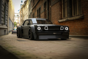ford mustang gt 1965 black horse, автомобили, 3д, ford, mustang, gt, 1965, black, horse
