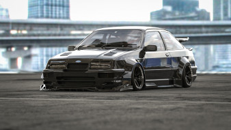 ford cosworth rs, автомобили, 3д, ford, cosworth, rs