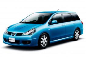 nissan wingroad, автомобили, nissan, datsun, ниссан, синий