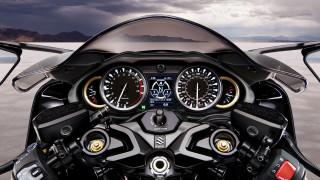 мотоциклы, suzuki, hayabusa, 2021, панель, приборов, руль, сузуки