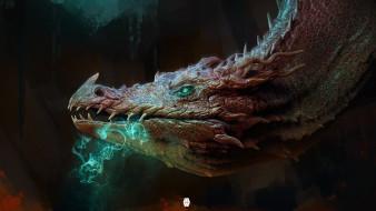 фэнтези, драконы, профиль