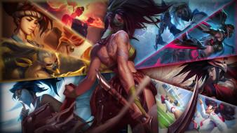 видео игры, league of legends, akali, образы