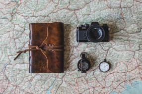 разное, глобусы,  карты, карта, компас, фотоаппарат, часы, бумажник