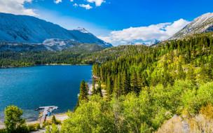 convict lake, california, usa, природа, реки, озера, convict, lake