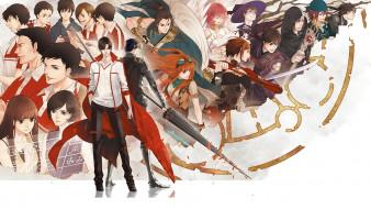 аниме, оружие,  техника,  технологии, персонажи