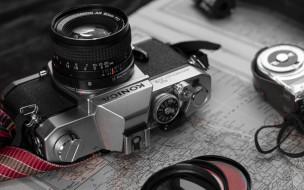 бренды, konica minolta, фотоаппарат, камера, карта