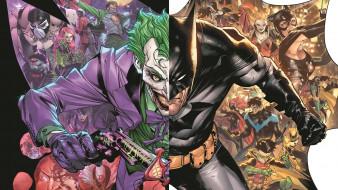 рисованное, комиксы, бэтмен, джокер, персонажи
