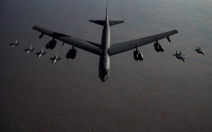 boeing, b52, stratofortress, американский, стратегический бомбардировщик, f15, f16, ввс сша, mcdonnell douglas, f15, eagle, usaf, general dynamics, f16, fighting falcon