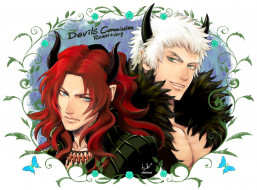 аниме, ангелы,  демоны, думоны
