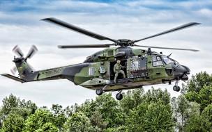 авиация, вертолёты, nhi, nh90, люфтваффе, ввс, германии, немецкий, военный, вертолет, бундесвер, нато
