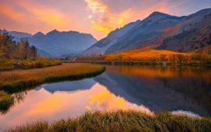 north lake, eastern sierra, california, природа, реки, озера, north, lake, eastern, sierra