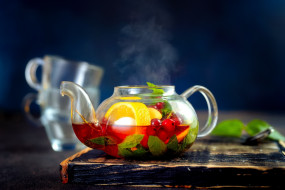 фруктовый, чай