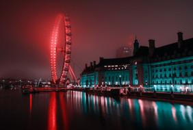 города, лондон , великобритания, вестминстер, грин, парк, англия, лондон, ночь