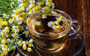 еда, напитки,  чай, ромашковый, чай, цветы