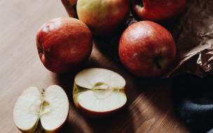 еда, яблоки
