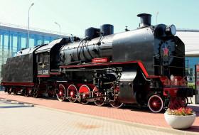 паровоз, техника, паровозы, локомотив, музей