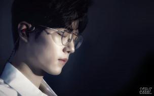 мужчины, xiao zhan, актер, лицо, очки