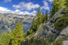 france, alps, природа, горы