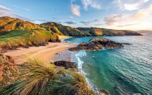 donegal, ulster, ireland, природа, побережье